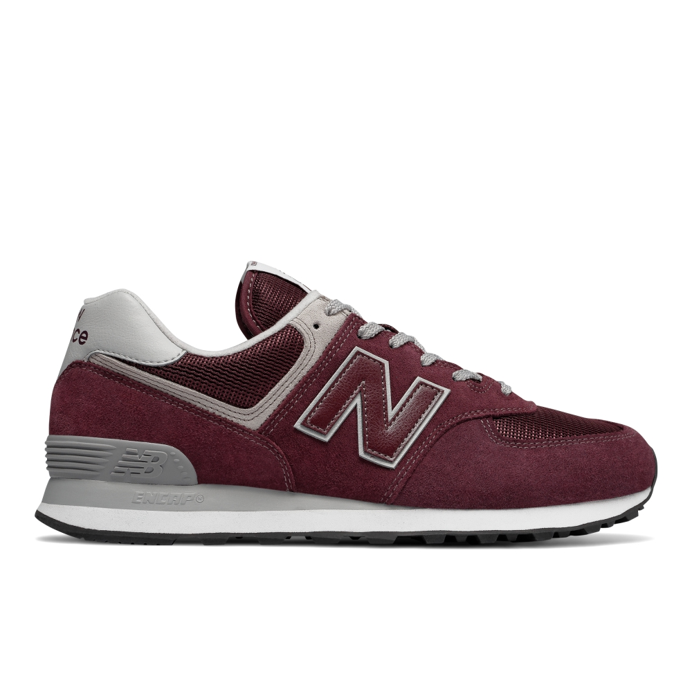 【New Balance】New Balance 574 Evergreen原色系列(酒紅)_ML574EGB_$2850