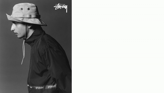 Theo Sion 美學導入,STÜSSY 18s look book